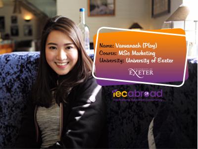 เรียนต่อโทที่อังกฤษ, เรียนต่ออะงงกฤษ, Universitty of Exeter