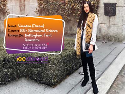 เรียนต่อโทที่อังกฤษ, เรียนต่ออังกฤษ, Nottingham Trent University
