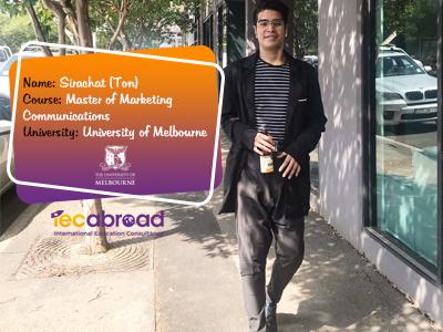 เรียนต่อโทออสเตรเลีย, เรียนต่ออสเตรเลีย, University of Melbourne